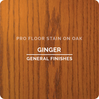 Pro Floor Stain - Ginger On Oak