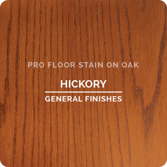 Pro Floor Stain - Hickory On Oak