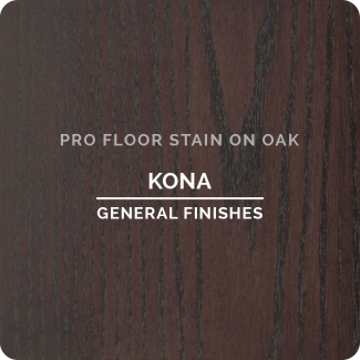 Pro Floor Stain - Kona On Oak