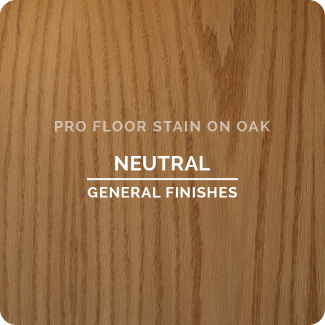 Pro Floor Stain - Neutral On Oak