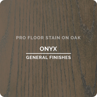 Pro Floor Stain - Onyx On Oak