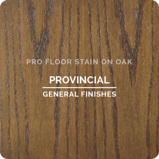 Pro Floor Stain - Provincial On Oak