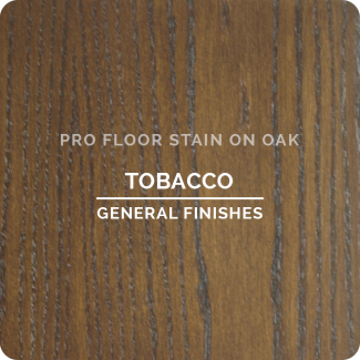 Pro Floor Stain - Tobacco On Oak