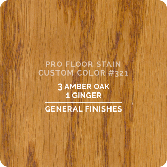 Pro Floor Stain - Custom Color #321