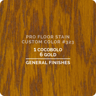 Pro Floor Stain - Custom Color #323