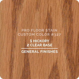 Pro Floor Stain - Custom Color #327