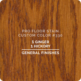 Pro Floor Stain - Custom Color #330