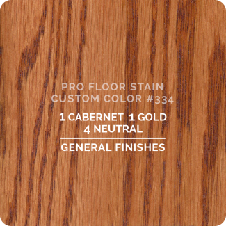 Pro Floor Stain - Custom Color #334