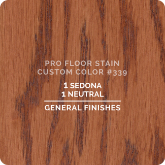 Pro Floor Stain - Custom Color #339