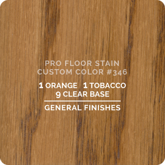 Pro Floor Stain - Custom Color #346