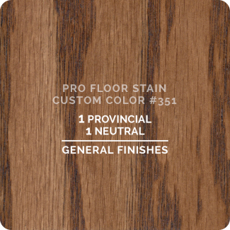 Pro Floor Stain - Custom Color #351
