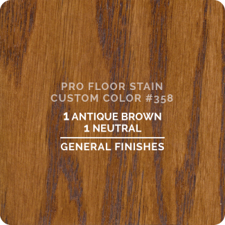 Pro Floor Stain - Custom Color #358