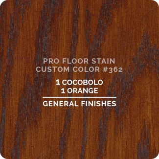 Pro Floor Stain - Custom Color #362