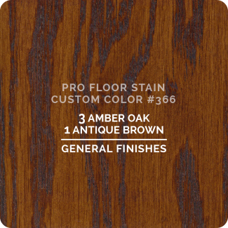 Pro Floor Stain - Custom Color #366