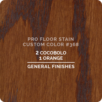 Pro Floor Stain - Custom Color #368
