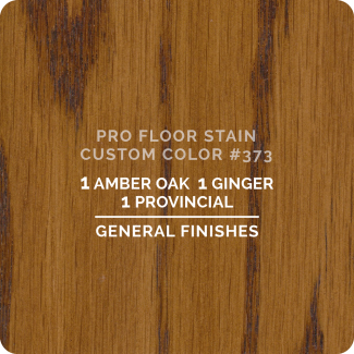 Pro Floor Stain - Custom Color #373