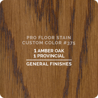 Pro Floor Stain - Custom Color #375
