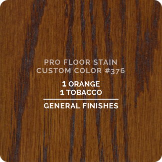 Pro Floor Stain - Custom Color #376