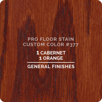 Pro Floor Stain - Custom Color #377