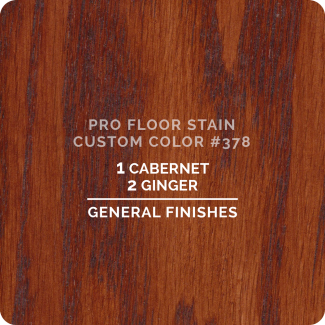 Pro Floor Stain - Custom Color #378