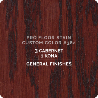 Pro Floor Stain - Custom Color #382