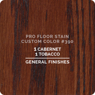 Pro Floor Stain - Custom Color #390