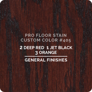 Pro Floor Stain - Custom Color #405