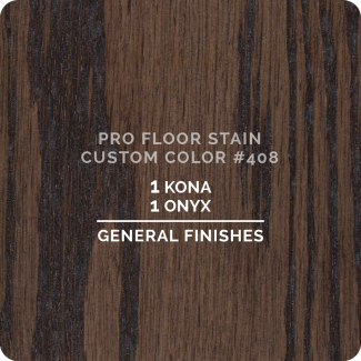 Pro Floor Stain - Custom Color #408