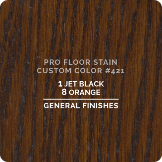 Pro Floor Stain - Custom Color #421