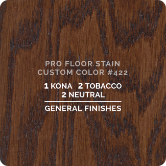Pro Floor Stain - Custom Color #422