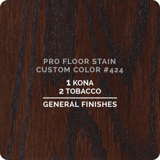 Pro Floor Stain - Custom Color #424