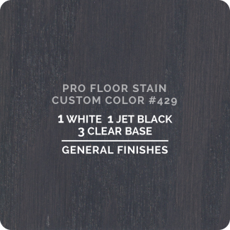 Pro Floor Stain - Custom Color #429