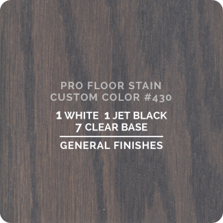 Pro Floor Stain - Custom Color #430