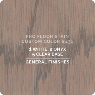 Pro Floor Stain - Custom Color #431