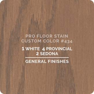 Pro Floor Stain - Custom Color #434
