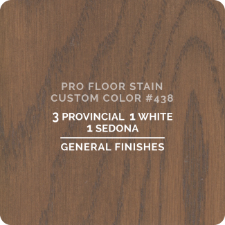 Pro Floor Stain - Custom Color #438