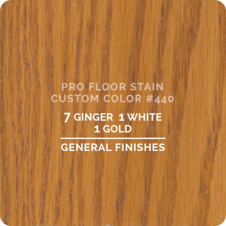 Pro Floor Stain - Custom Color #440