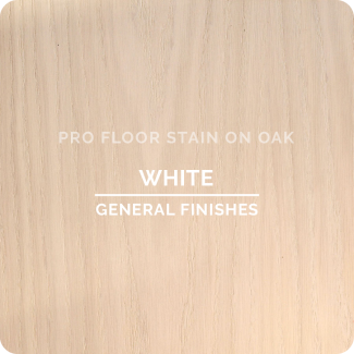 Pro Floor Stain - White On Oak