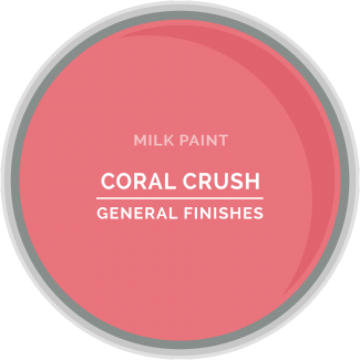 General Finishes Milk Paint - Coral Crush