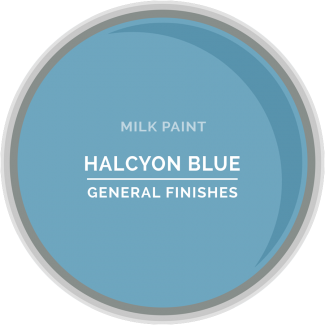 General Finishes Milk Paint - Halcyon Blue