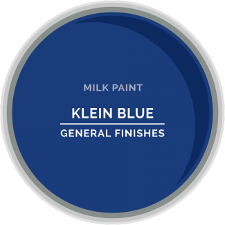General Finishes Milk Paint - Klein Blue
