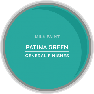 General Finishes Milk Paint - Patina Green