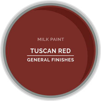 General Finishes Milk Paint - Tuscan Red