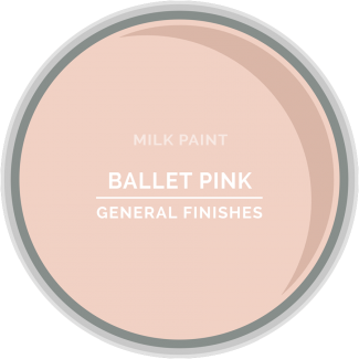 General Finishes Milk Paint - Ballet Pink