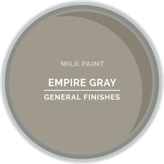 General Finishes Milk Paint - Empire Gray