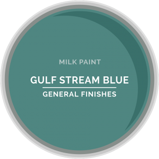 General Finishes Milk Paint - Gulf Stream Blue