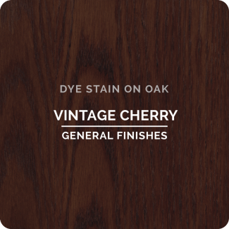 General Finishes Water Based Dye Stain - Vintage Cherry (ON OAK)