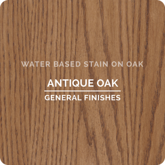 General Finishes Water Based Wood Stain - Antique Oak (ON OAK)