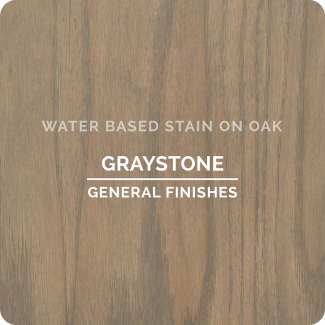 General Finishes Water Based Wood Stain - Graystone (ON OAK)