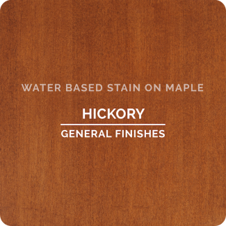 General Finishes Water Based Wood Stain - Hickory (ON MAPLE)